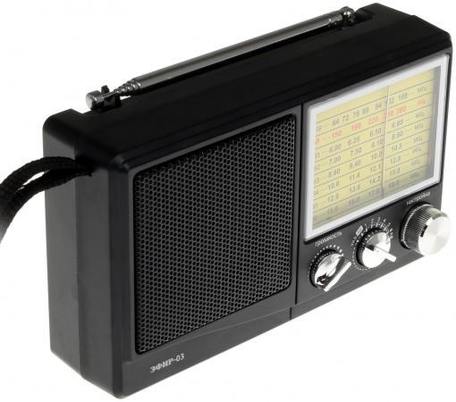 Радиоприемник Сигнал Эфир-03 черный радиоприемник сигнал эфир 08 белый черный