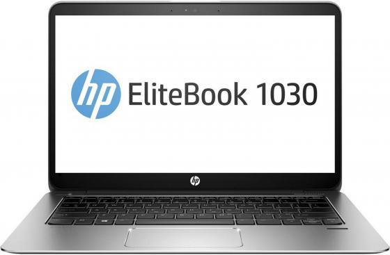 Ноутбук HP EliteBook 1030 G1 13.3 3200x1800 Intel Core M7-6Y75 512 Gb 16Gb Intel HD Graphics 515 серебристый Windows 10 Professional X2F04EA ноутбук hp elitebook 820 g4 z2v85ea z2v85ea