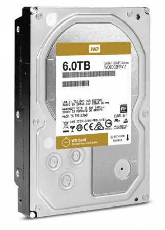 Жесткий диск 3.5 6Tb Western Digital SATAIII WD6002FRYZ жесткий диск 3 5 8 tb 5400rpm 128mb cache western digital purple sataiii wd80purz