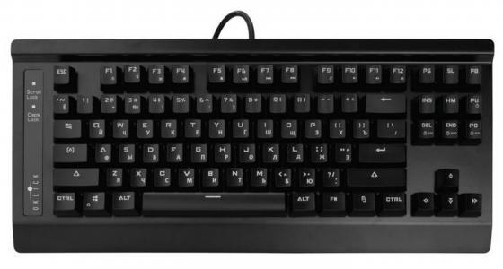 лучшая цена Клавиатура проводная Oklick 910G (V2) USB черный 337181