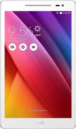 планшет asus zenpad 8 z380c 1a087a black 90np0221 m02670 intel atom x3 c3200 1 2 ghz 1024mb 8gb wi fi bluetooth cam 8 0 1280x800 android Планшет ASUS ZenPad Z380M-6B024A 8 16Gb белый Wi-Fi Bluetooth Android 90NP00A2-M00810 90NP00A2-M00810