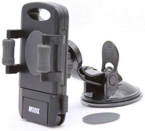 Автомобильный держатель Wiiix HT-WIIIX-01TGT черный разветвитель розетки прикуривателя wiiix tr 01