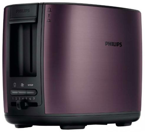 лучшая цена Тостер Philips HD 2628 бордовый