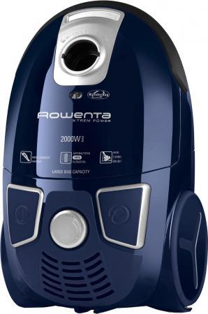 Пылесос Rowenta Ergo RO5441R1 с мешком сухая уборка 2000Вт синий 80 1 lab centrifuge laboratory supplies medical practice 4000 rpm 20 ml x 6 1795xg