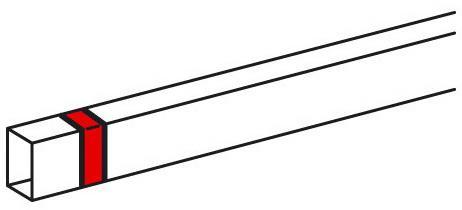 Накладка на стык Legrand Metra 16x16мм 638116