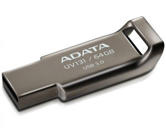 Флешка 64Gb A-Data UV131 USB 3.0 серый AUV131-64G-RGY цена