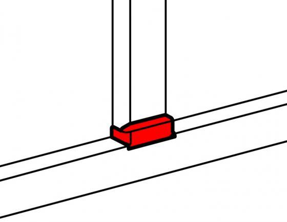 Т-отвод с переходом на кабель-канал Legrand 105х35 10736