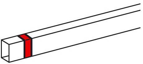 Накладка на стык Legrand Metra 40x16мм 638156 накладка на стык крышек 180 legrand 10806