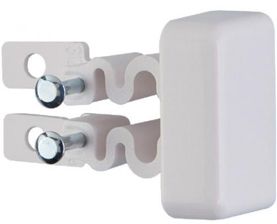Заглушка Legrand для кабель-канала 31202 заглушка для кабель канала дкс 80х40 мм торцевая белая