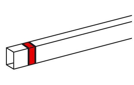 Накладка на стык Legrand Metra 15х10мм 638106