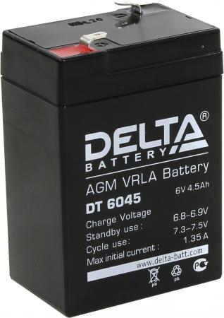 Батарея Delta DT 6045 4.5Ач 6B new original dvp48eh00r3 delta plc eh3 series 100 240vac 24di 16do relay output