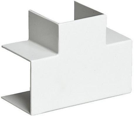 Тройник Legrand Metra 20x12мм 638124  отвод тройник legrand 32х12 5мм 30254
