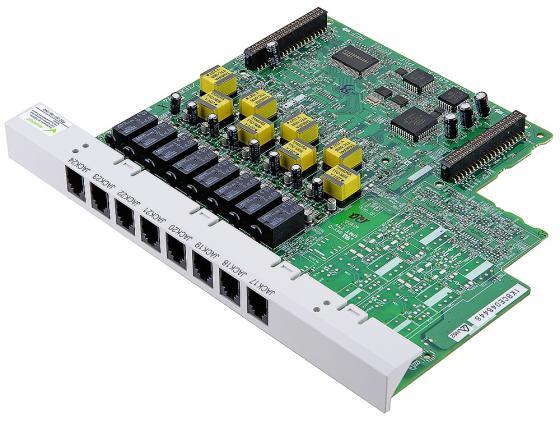 Плата дополнительных линий Panasonic KX-TE82474X 8 аналоговых внутренних линий для АТС TES/M 824 атс