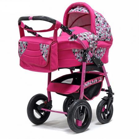 Коляска 2-в-1 Teddy BartPlast Platinum 2016 PKLO (OS05/розовый) коляски 2 в 1 smile line platinum 2 в 1