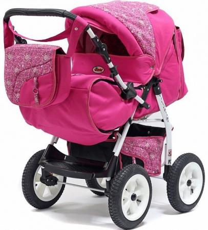 Прогулочная коляска Teddy BartPlast Victoria 2016 BKL (MO04/розовый) коляска 3 в 1 teddy bartplast serenade pco f 06 фиолетовый