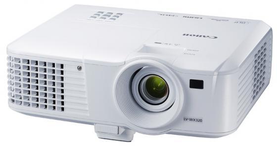 Проектор Canon LV-WX320 1280x800 3200 люмен 10000:1 белый цена и фото