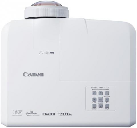 Фото - Проектор Canon LV-X310ST DLP 1024x768 3100Lm 10000:1 VGA S-Video HDMI RS-232 0911C003 линза canon rs il01st 4966b001