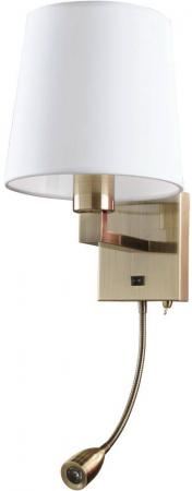 Бра Arte Lamp Hall A9246AP-2AB arte lamp бра arte lamp logico a1035ap 2ab