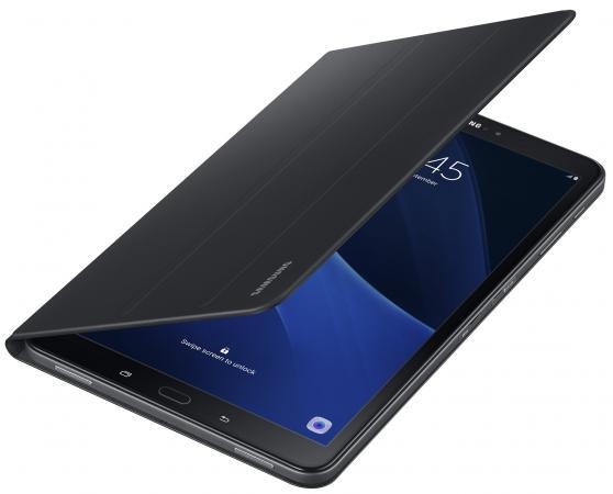 Чехол Samsung для Samsung Galaxy Tab A 10.1 Book Cover полиуретан/поликарбонат черный EF-BT580PBEGRU чехол samsung для samsung galaxy tab a 7 0 protective cover полиуретан поликарбонат черный ef pt280cbegru