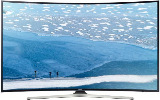 Телевизор 55 Samsung UE55KU6300UXRU черный 3840x2160 200 Гц Wi-Fi Smart TV RJ-45 samsung 2160 fix v 12 коротрон