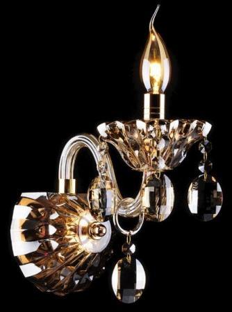 Бра Eurosvet 3162/1 золото/тонированный хрусталь Strotskis adriatica 3162 1241qz