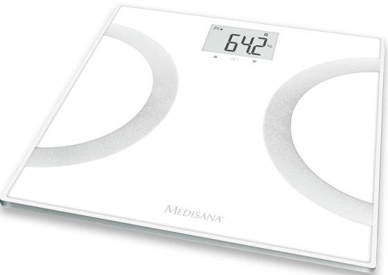 Весы напольные Medisana BS 445 Connect белый серебристый конструктор lego обучение в монастыре 70680 ninjago legacy