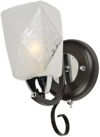 Бра IDLamp Kinsey 233/1A-Blackchrome idlamp бра idlamp kinsey 233 1a blackchrome