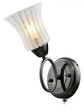 Бра IDLamp Zhinevra 246/1A-Blackwhite бра idlamp zhinevra 246 1a blackwhite