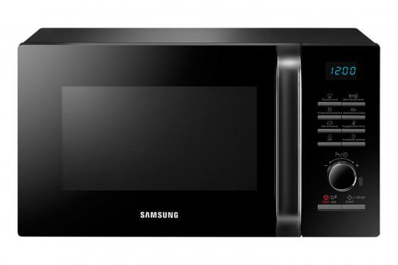 Микроволновая печь Samsung MS23H3115QK 800 Вт чёрный микроволновая печь midea mm820cj7 b3 800 вт чёрный