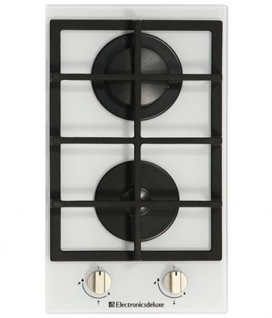 Варочная панель газовая Electronicsdeluxe GG2 400215F-002 белый