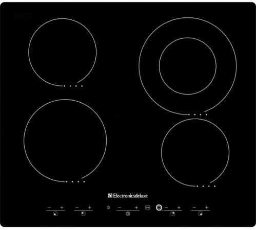 Варочная панель электрическая Electronicsdeluxe 595204.01 ЭВС черный
