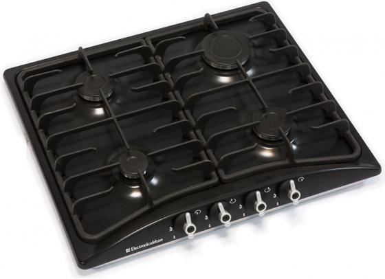Варочная панель газовая Electronicsdeluxe 5840.00ГМВ-009 Ч/Р черный