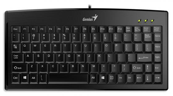 Клавиатура проводная Genius LM-100 USB черный