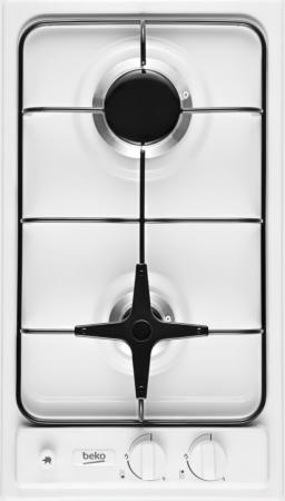 Варочная панель газовая Beko HDG 32210 SW белый