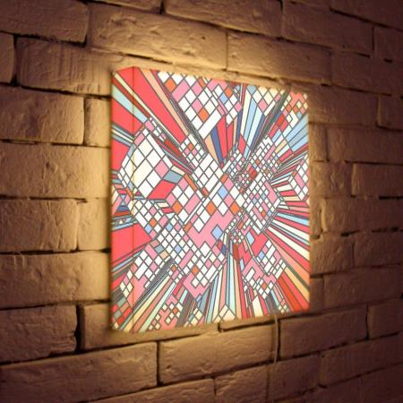 Лайтбокс Абстракция 17 45x45-114 fotoniobox лайтбокс абстракция 17 45x45 114