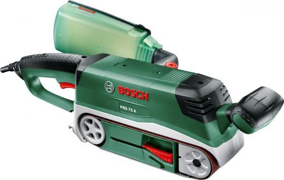 Ленточная шлифмашина Bosch PBS 75 A 710Вт