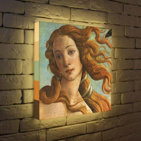 Лайтбокс Боттичелли Голова Венеры 45x45-153 цена