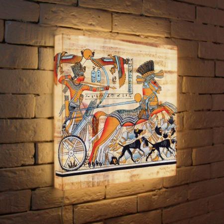 Лайтбокс Египетская колесница 45x45-135 fotoniobox лайтбокс египетская колесница 35x35 135
