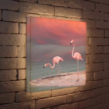 Лайтбокс Фламинго 45x45-022 лайтбокс фламинго 45x45 022