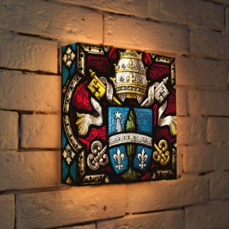Лайтбокс Герб 25x25-061 fotoniobox лайтбокс герб 45x45 061
