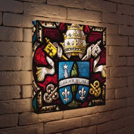 Лайтбокс Герб 45x45-061 fotoniobox лайтбокс герб 45x45 061