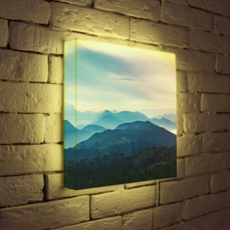 Лайтбокс Горный пейзаж 35x35-013 цена