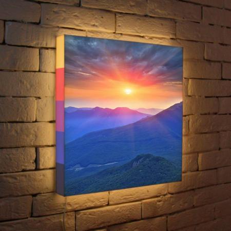Лайтбокс Горный рассвет 45x45-099 цена