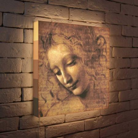 Лайтбокс Леонардо да Винчи Эскиз 45x45-039