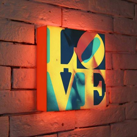Лайтбокс LOVE 1 25x25-041 лайтбокс love 1 45x45 041
