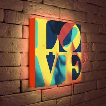 Лайтбокс LOVE 1 35x35-041 лайтбокс love 1 45x45 041