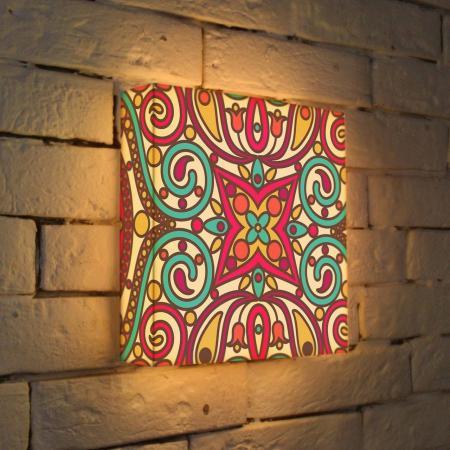 Лайтбокс Орнамент 2 25x25-074 fotoniobox лайтбокс орнамент 2 25x25 074