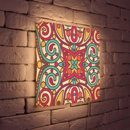 Лайтбокс Орнамент 2 35x35-074 fotoniobox лайтбокс орнамент 2 25x25 074