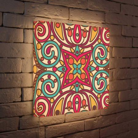 Лайтбокс Орнамент 2 45x45-074 fotoniobox лайтбокс орнамент 2 25x25 074