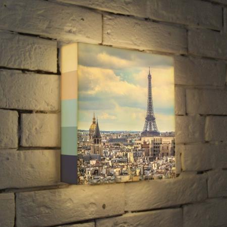 Лайтбокс Париж 25x25-103 eps 103 de 25